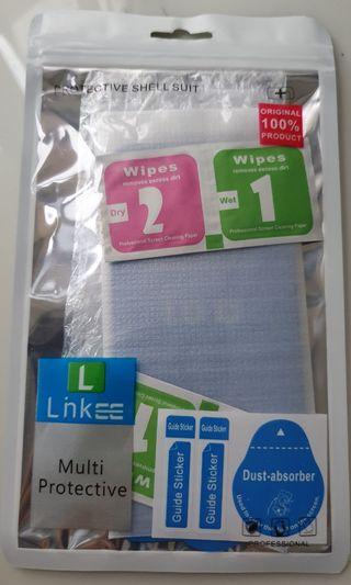 Linkee 10D Tempered Glass And Back Protector For XS / X