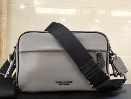 Ready Stock 39946 grey crossbody bag