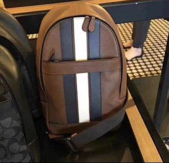 Ready stock Authentic Coach men chest bag 23215 ready Stock