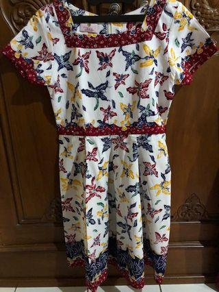 Dress Batik Lasem Tulis