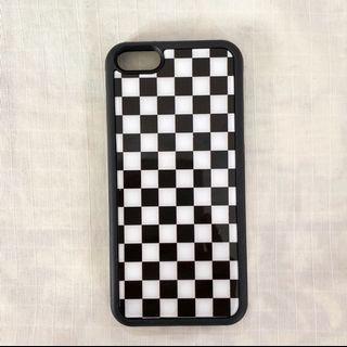 checkered phone case