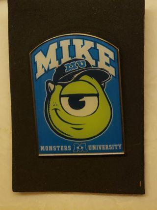 Monster mike disney pin怪獸公司迪士尼襟章