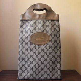 Authentic Vintage Gucci Hand Bag Pre serial Number Era - FREE SHIPPING