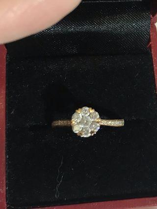 鑽石戒指一隻