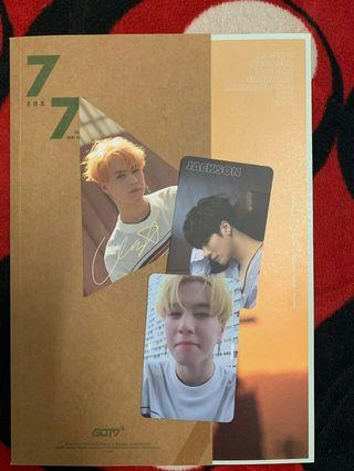 WTS GOT7 7for7