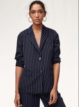Aritzia Babaton Size SMALL Pinstripe Blazer