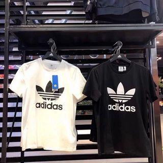 100% Authentic Adidas Originals Trefoil Logo Tee (Women/Men)