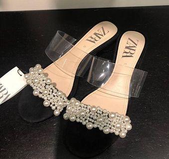 Zara Diamond Heels