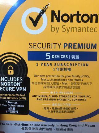 Norton by Symantec 防毒軟體
