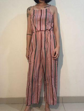 #maudandan jumpsuit pink