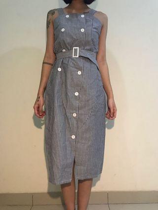 #maudandan dress garis