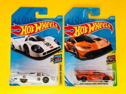 HotWheels Porsche 917 LH / Lamborghini Huracan