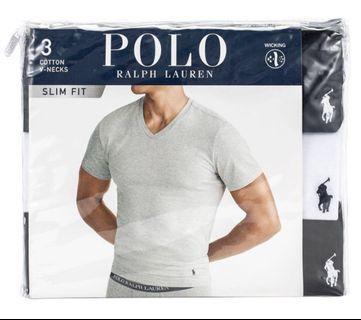 🇺🇸Polo Ralph Lauren 男短袖V-領 Tee 3 件組