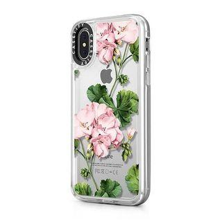 Casetify Impact Geranium case ( for iPhone XS , frost cover