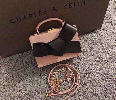 Charles and Keith Ribbon