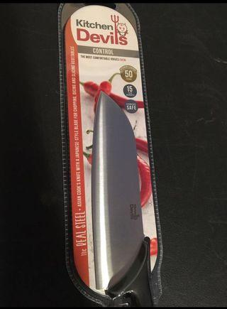BNIP Utility Kitchen Devils Asian Cook's Knife ⭐️⭐️⭐️⭐️