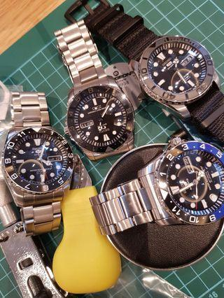 Seiko mods services available