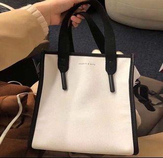 Charles and Keith Aglet Tote