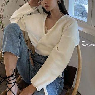 Tie Knitted Sweater