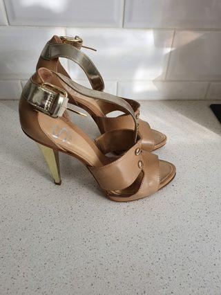 Tan Leather Heels