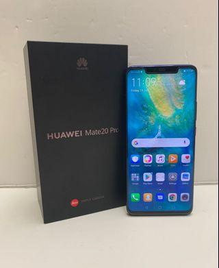 Used Huawei Mate 20 Pro Twilight (Mint Condition)