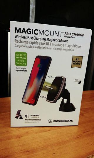 Wireless Fast Changing Magnetic Mount