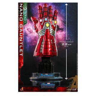 首日訂單 HOT TOYS 1:4 Nano Gauntlet (Hulk Version) 納米 手套