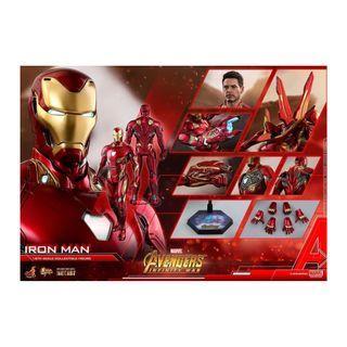 Hot Toys  << Avengers: Infinity War >> 鐵甲奇俠Iron Man Mark L MK50 訂單