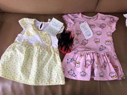 全新兩件Baby Dress