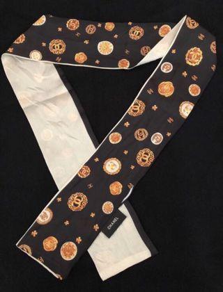 Chanel scarf  vip gift  手袋巾
