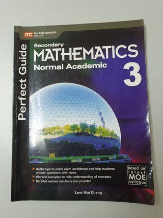 🚚 Perfect Guide Sec 3 NA Maths