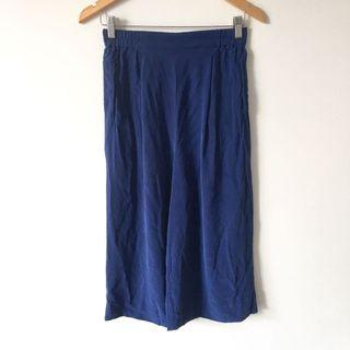 Gorman Blue Silk Pants / Culottes