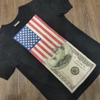 THE HUNDREDS 100 BILLS USA FLAG T-SHIRT