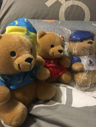 Singapore airline collection bear