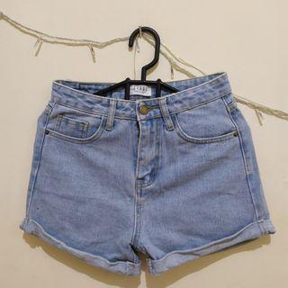 Denim Shorts Highwaist