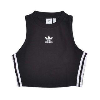 [PO] Adidas Three Stripes Crop Tank Top