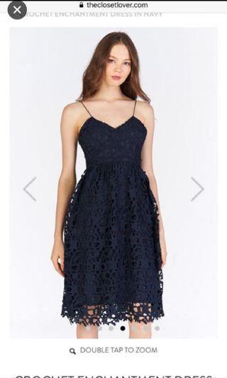 The closet lover Crochet Enchantment Dress