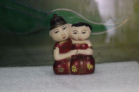 Javanesse Couple Miniature