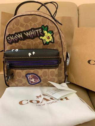 Ready Stock Authentic coach women backpack medium 32717 Disney collection