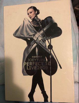 容祖兒 Perfect 10 黃金十年演唱會 (特別版) (2CD + 2 Karaoke DVD + Documentary DVD)