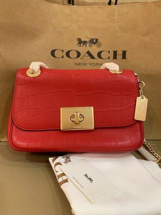 Ready Stock Authentic coach women 38081 Cassidy sling bag