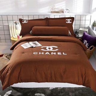 Cadar Branded With Comforter 5in1