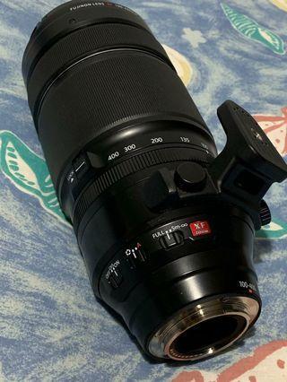 Fujifilm XF 100-400mm f4.5-5.6mm With 1.4x Teleconvertor