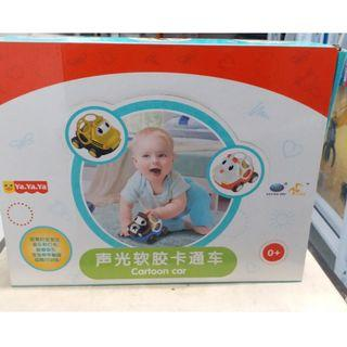 Cartoon Car with sound from New born to Toddlers