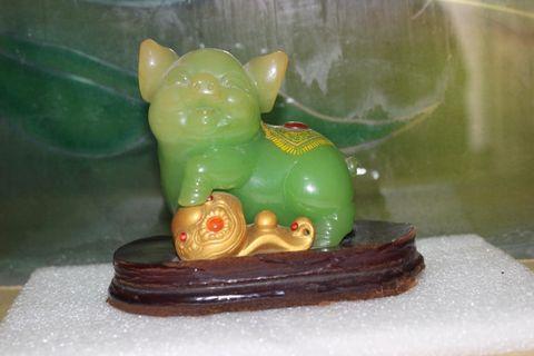 Green Pig Miniature