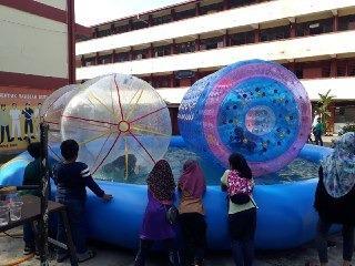Big Pool with zorb ball