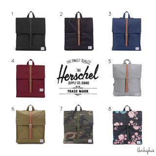 *CHEAPEST AUTHENTIC* Herschel City Backpack