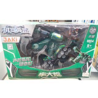 R/C Changing tank Dragon Plastic Toy Robot with Controller
