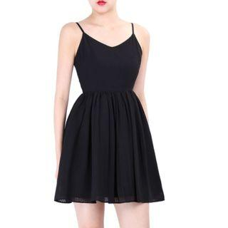 Doublewoot Daufer Black Dress