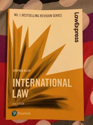 International Law (Law Express Revision)